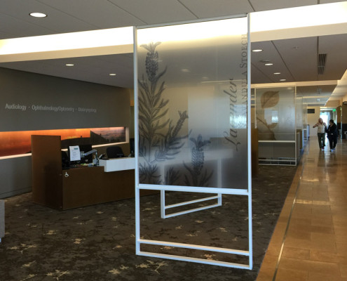 Custom Decorative Privacy Film - Monster Route